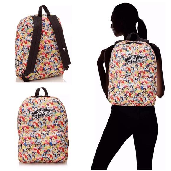 a6e62849b7 Vans x Disney Princess Snow White Belle Ariel Bag.  M 5c782700aaa5b84cdb2094c7
